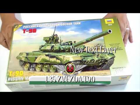 1 35 ZVEZDA T90 Full Build Reloaded