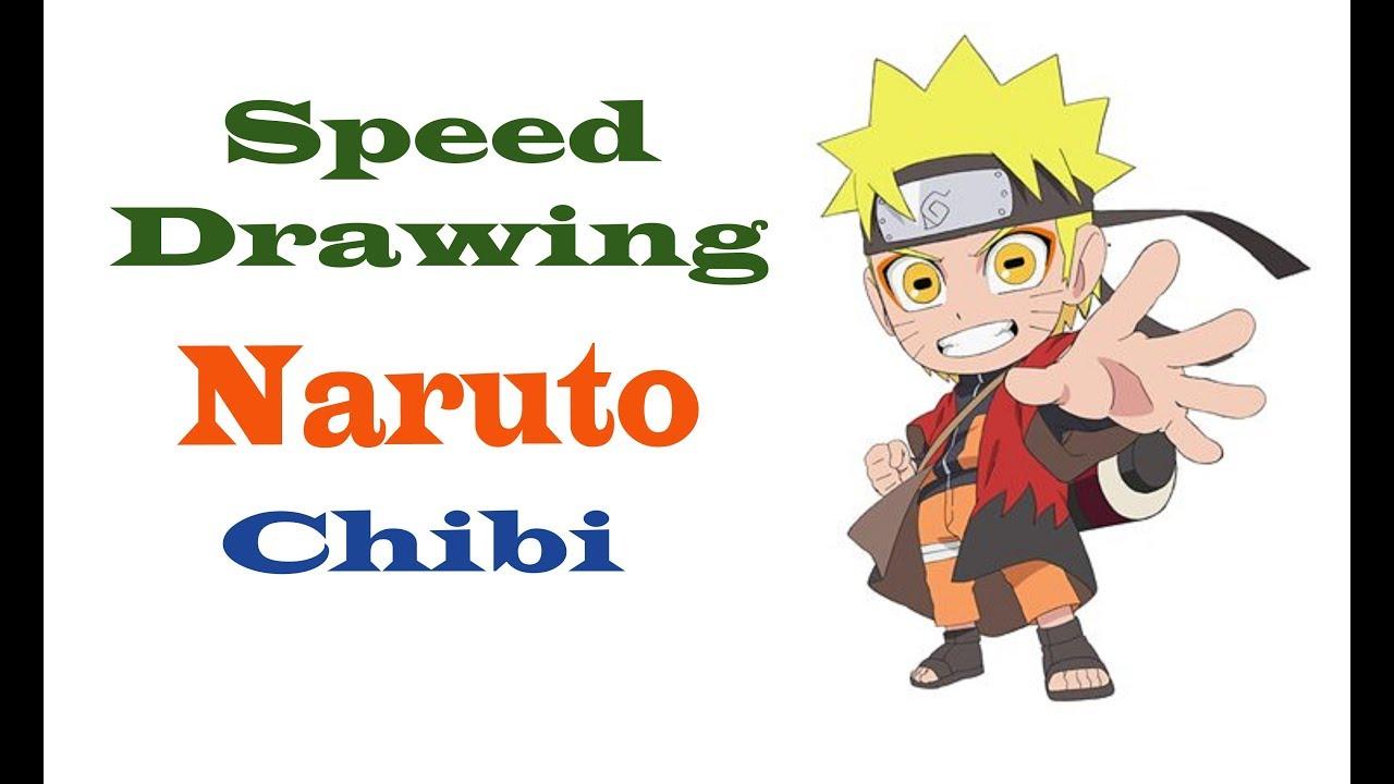 Vẽ Naruto chibi đơn giảnSpeed Drawing Naruto Chibi Desenho de velocidade Naruto Chibi