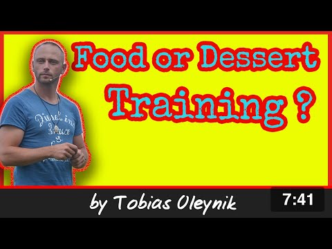 Food or treats (Desert) for dog training - by Tobias Oleynik