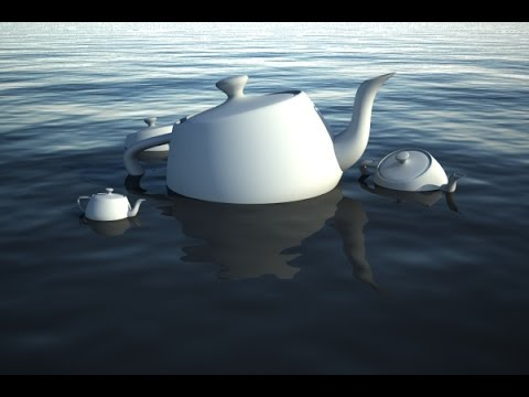 How To Create Realistic Water In 3ds Max[No Audio]