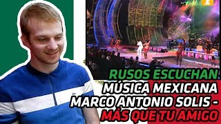 RUSOS REACCIONAN a Marco Antonio Solis - Más Que Tu Amigo, Festival de Viña 2005 | REACCIÓN
