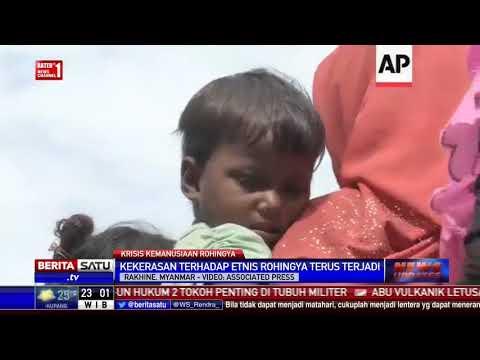Etnis Rohingya di Rakhine Masih Alami Kekerasan