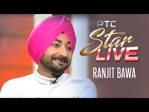 Ranjit Bawa Live in PTC Star Live | Exclusive Interview | PTC Punjabi Gold