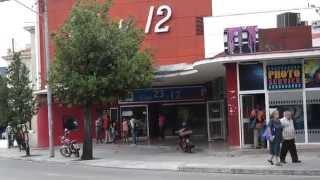 Cine 23 y 12 en La Habana. Cinema. Havana in Cuba.