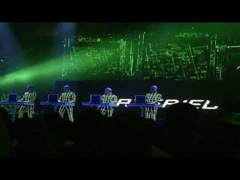 Kraftwerk - Aero Dynamik on MTV (live) HD