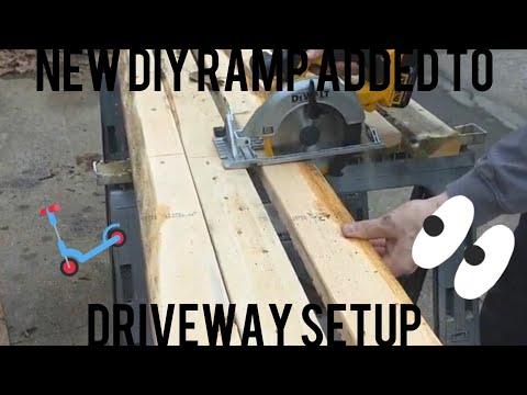 Building and testing diy ramp