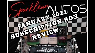 BecauseRacecarBox January 2021 #becauseracecarbox #detailing #carcare