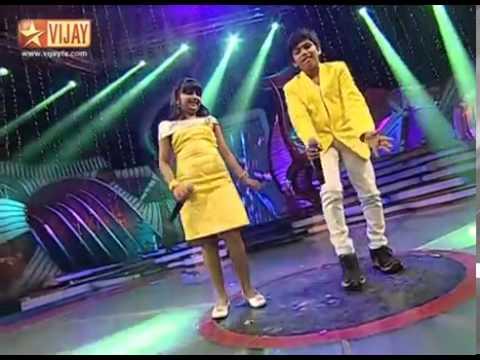 Devi Sri Devi by Srikanth and SSJ06 Pravasthi ( Airtel Super Singer Junior 4 )