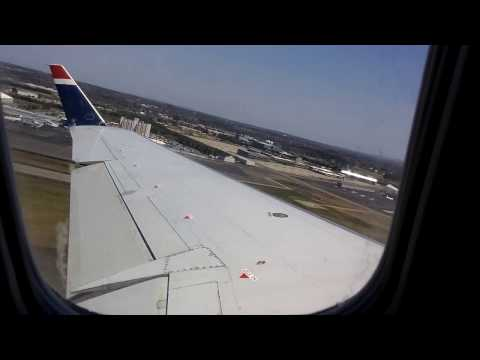US Airways CRJ200 Takeoff from BGR