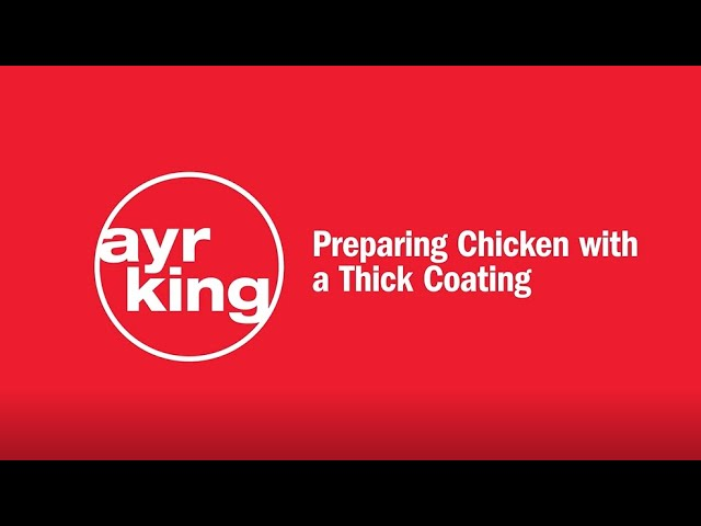 FRIED CHICKEN: Thick Coating