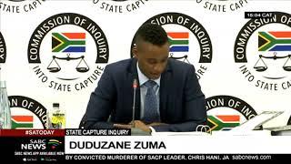 State Capture Inquiry | Duduzane Zuma confirms meetings between Jonas & the Gupta's