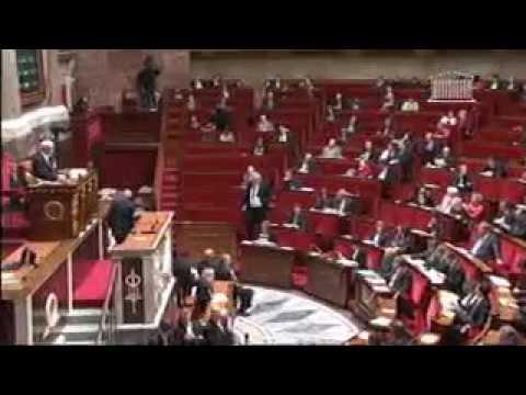 L' intervention du Président du groupe PCF à l' Assemblée Nationale