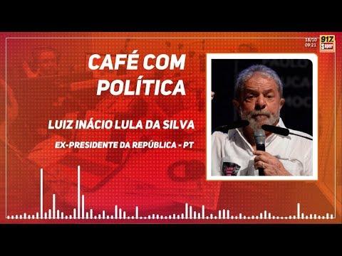 Café com Política entrevista o ex-presidente Luiz Inácio Lula da Silva.
