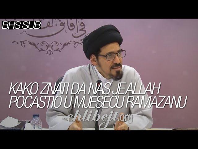 Kako znati da nas je Allah počastio u mjesecu ramazanu – Sejjid Munir Habbaz