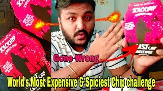 World's Most Expensive and Spiciest chip challenge GONE WRONG || The Last Chip Challenge ||