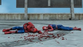 Civil war spiderman vs The amazing spiderman vs Captain America