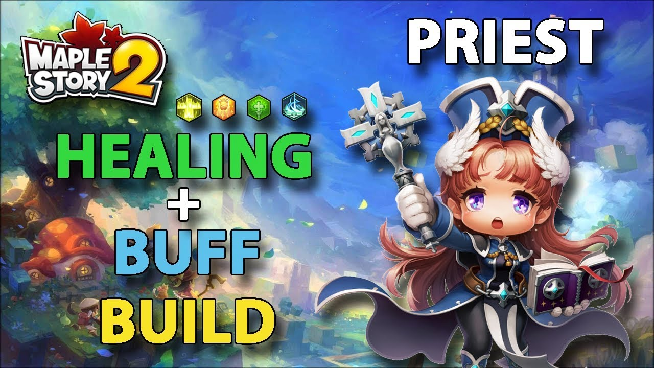 Maplestory 2 priest build, guide and introduction.