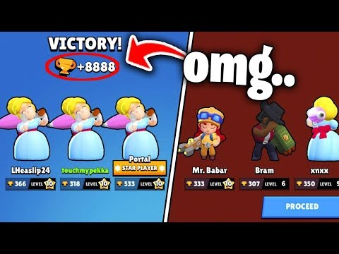 Impossible Win ! Brawl Stars Funny Moments & Fails & Gitches #33