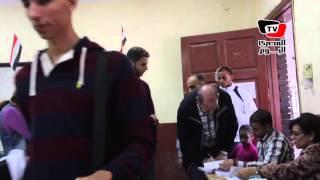 سير العملية الانتخابية بإحدي لجان جاردن سيتي