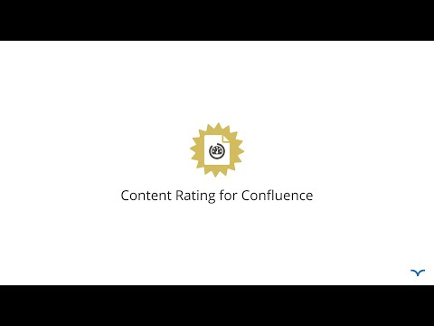 Content Rating for Confluence