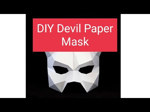 How to Make DIY Paper Mask for Kids