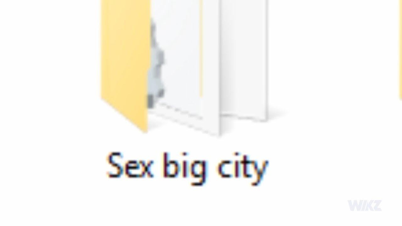 Sex big city