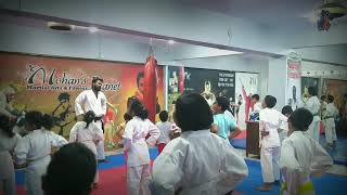 Kids Karate batch by Sensei Nitin