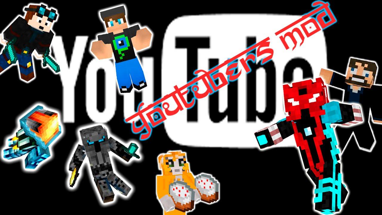 Youtubers+ Mod - Mods - Minecraft - CurseForge