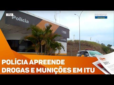 Polícia apreende drogas e munições em Itu - TV SOROCABA/SBT