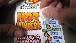 "$5 Scratch Off ""Hot Numbers"" Texas Lottery"