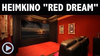 Heimkino Red Dream ...made by HEIMKINORAUM Berlin