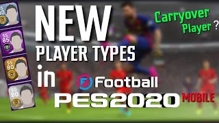 All PLAYER TYPES IN PES2020