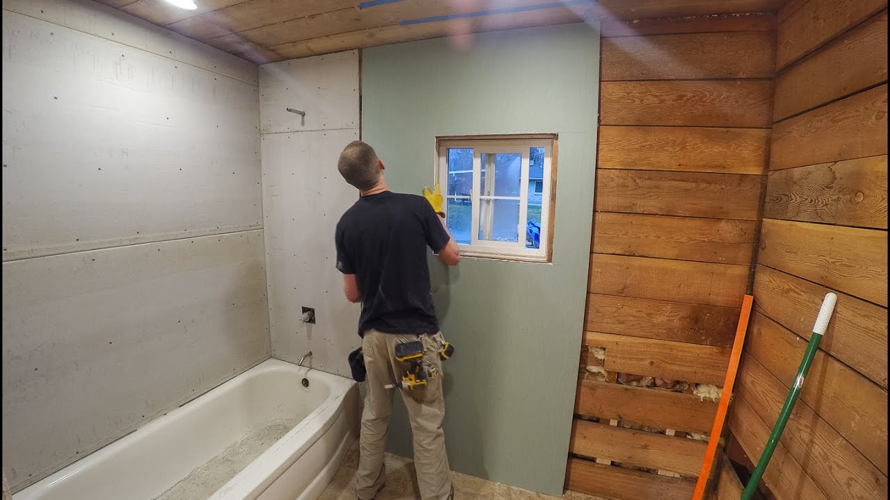 Drywall In Bathroom