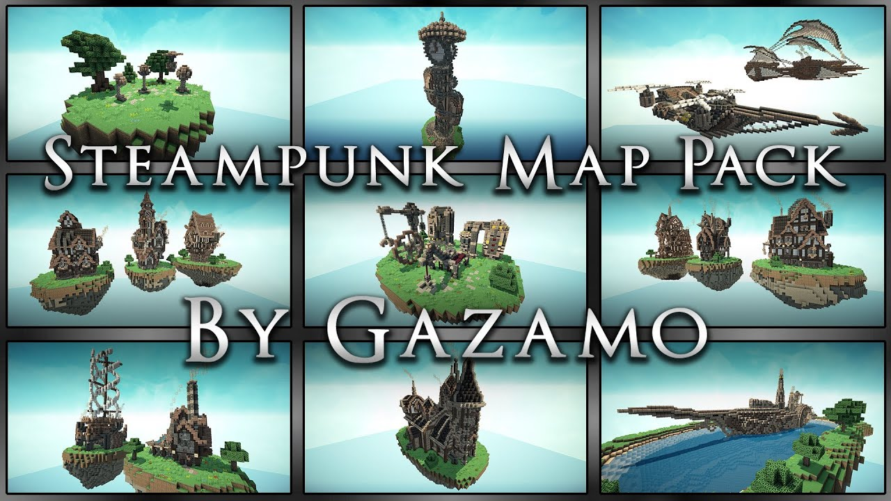 Steampunk Map Pack Download Anyone Can Use