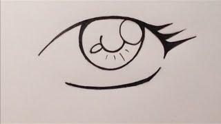 How to Draw Manga Eyes - Beginners (easy way)