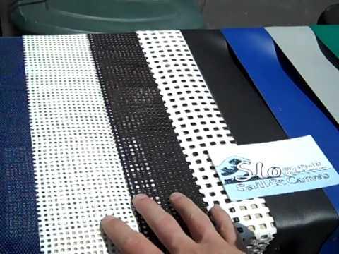 Trampoline Fabric Temperature Comparison Slo Sail And