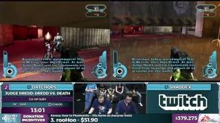 Judge Dredd: Dredd vs. Death Co-op Jury by Shaddex and DrTChops in 42:36 - SGDQ 2016 - Part 101