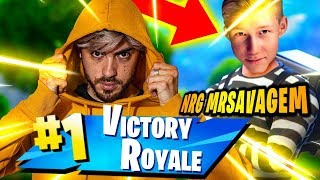 ROYAL VICTORY BEATING MR SAVAGE! FORTNITE ITA