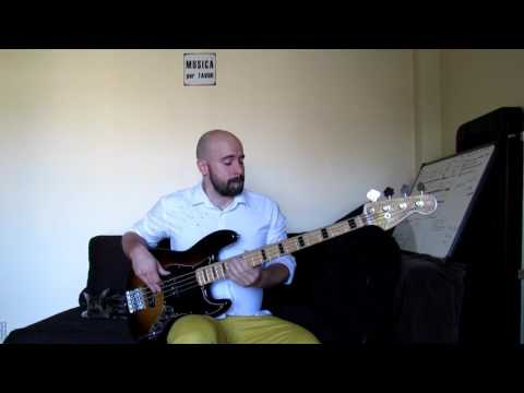 Harry Connick Jr. (I could only) Whisper your name - Bass cover -