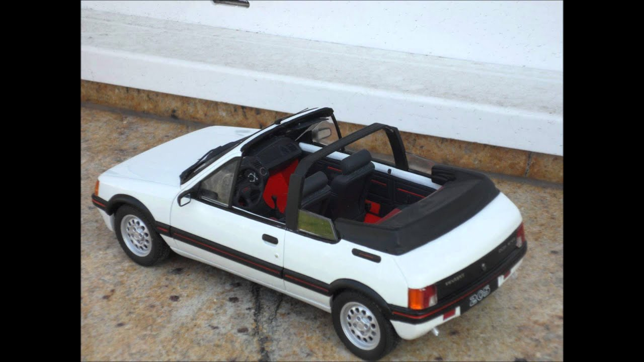 peugeot 205 cti 1 18 youtube. Black Bedroom Furniture Sets. Home Design Ideas
