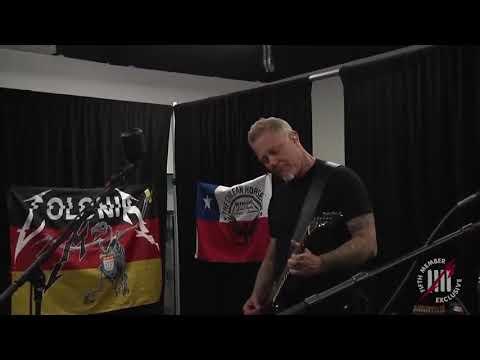 James Hetfield: Cirice (Ghost Cover) | Metallica Playing Ghost