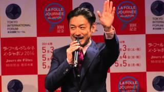 ラ・フォル・ジュルネ・オ・ジャポン2014アンバサダーの石丸幹二氏が、...