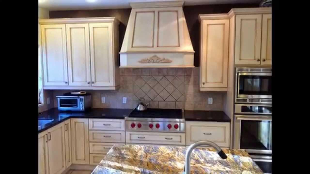 Kitchen Cabinet Refinishing Calgary - YouTube
