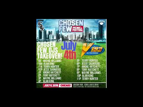 Chosen Few DJs Takeover Of V-103 Chicago Part 1, July 4th, 2019
