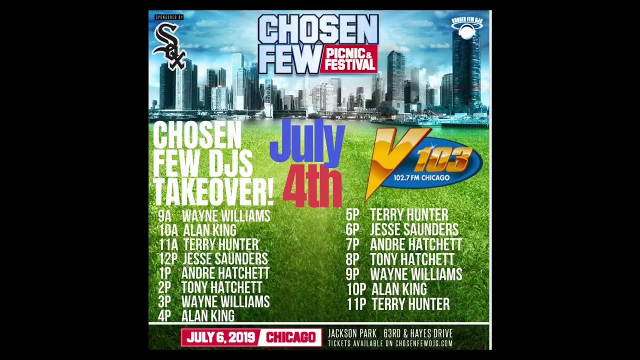 chosen few djs takeover