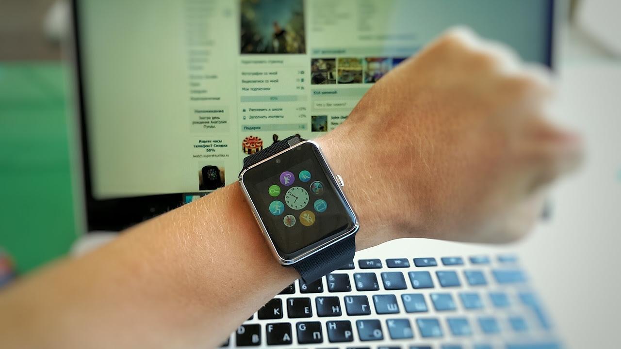 Smart Watch GT08, Умные часы Smart Watch с видеокамерой и .