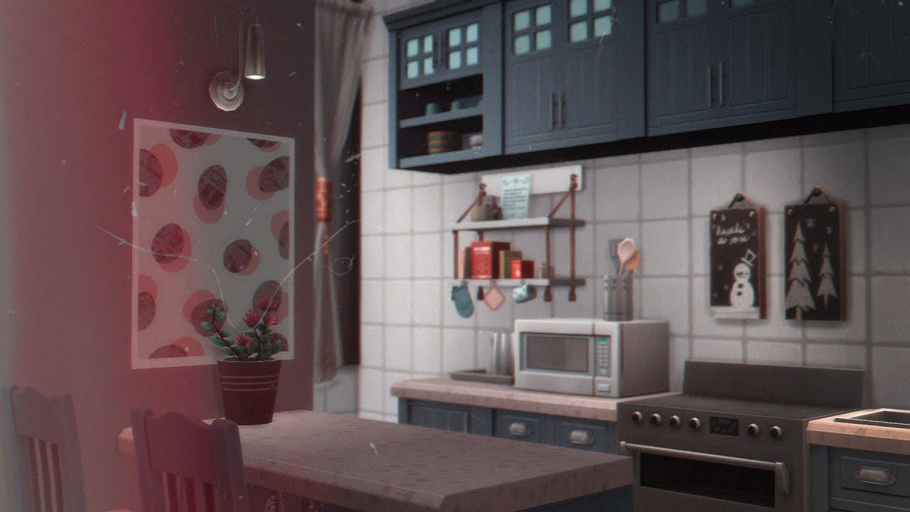 The Sims 4: Минималистичная квартира   Строительство