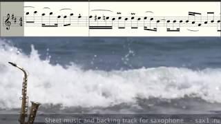 Jimmy Sax - No Man No Cry (Sheet music for Saxophone Alto)