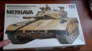 СБОРНЫЕ МОДЕЛИ Обзор модели Израильского танка Merkava от Tamiya