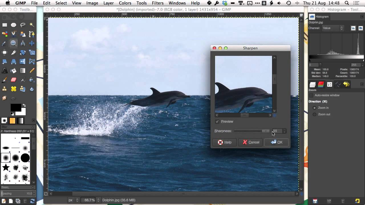 gnu image manipulation program mac